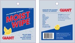 Giant Industries Unveils New Moistwipe Packaging! Post Thumbnail
