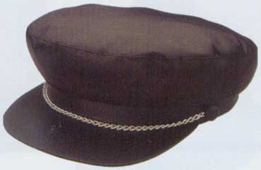Bikers Cap with Chain-0