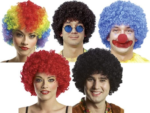 Clown Afro Wig-0