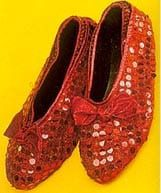 Child Red Shoe Slip Covers-0