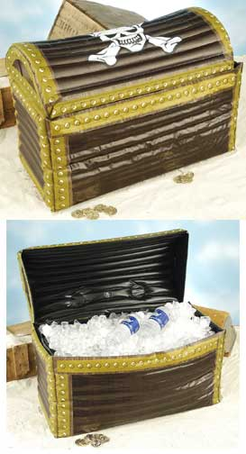 Inflatable Treasure Chest Cooler-0