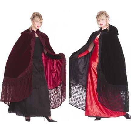 Victorian Cape with Lace-0