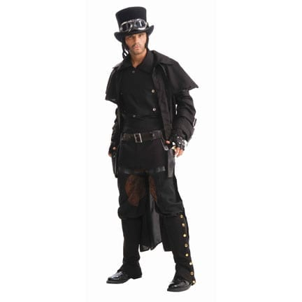 Steampunk Double Thigh Holster-0
