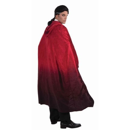 56 Inch Red Faded Cape-0