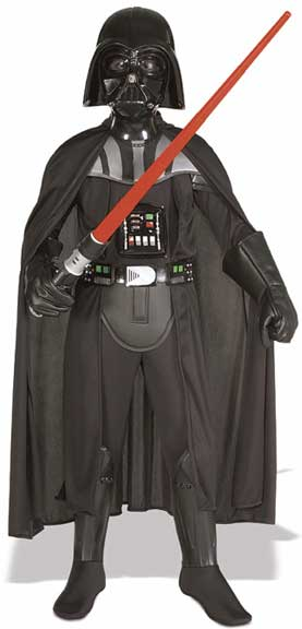 Deluxe Darth Vader Childrens Costume-0
