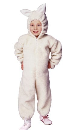 Ba Ba Lamb Plush Children's Costume-0