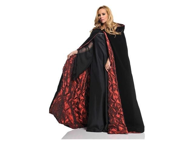 63 inch Deluxe Velvet Cape with Satin Lining-0